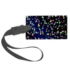 Colored stars Luggage Tag