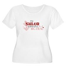 My sailor is kind of a BIG DE T-Shirt