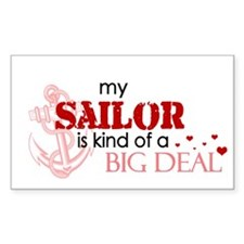 My sailor is kind of a BIG DE Sticker (Rectangular