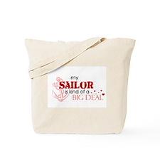 My sailor is kind of a BIG DE Tote Bag