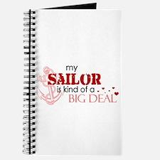 My sailor is kind of a BIG DE Journal