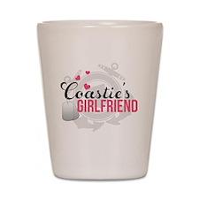 Coasties Girlfriend Shot Glass