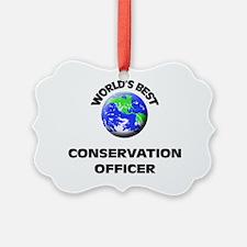 World's Best Conservation Officer Ornament