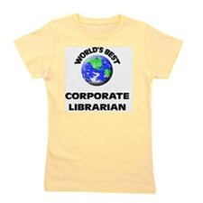 World's Best Corporate Librarian Girl's Tee