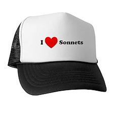 I Love Sonnets Trucker Hat