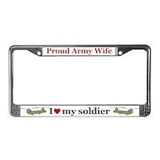 Cute Kiowa License Plate Frame