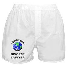 World's Best Divorce Lawyer Boxer Shorts