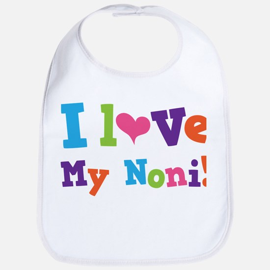 I Love My Noni Baby Bib