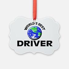 World's Best Driver Ornament