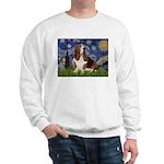 Starry Night & Basset Sweatshirt