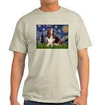 Starry Night & Basset Light T-Shirt