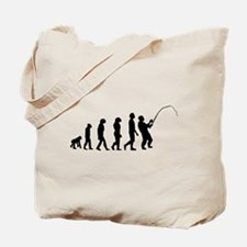 Fishing Evolution Tote Bag