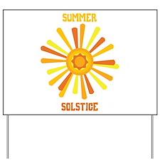 Summer Solstice Yard Sign