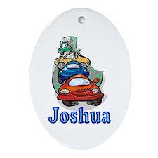 Joshua Cars Oval Ornament