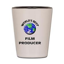 World's Best Film Producer Shot Glass