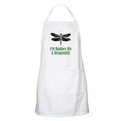 Rather Be A Dragonfly BBQ Apron