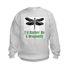 Rather Be A Dragonfly Sweatshirt