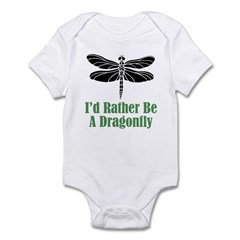 Rather Be A Dragonfly Infant Bodysuit