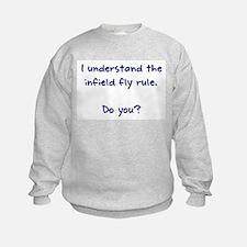 Infield Fly Rule Sweatshirt