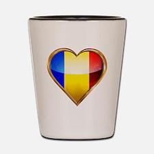 Romanian Shot Glass