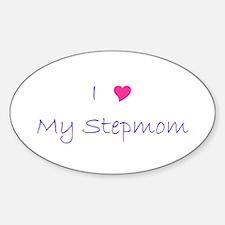 I luv my Stepmom Oval Decal