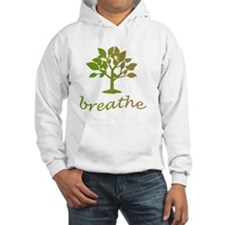 Breathe, meditate, exercise Hoodie