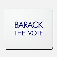BARACK the vote  Mousepad