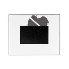 LoveKillZombiesCrow1C Picture Frame