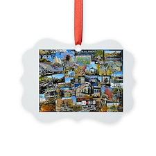 Central Park collage Ornament