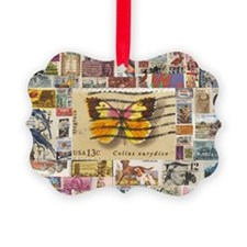 Stamp Collection Ornament