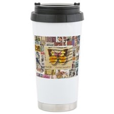 Stamp Collection Travel Mug
