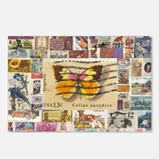 Stamp Collection Postcards (Package of 8)