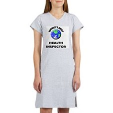 World's Best Health Inspector Women's Nightshirt