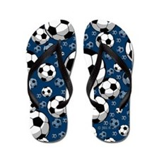 Soccer Flip Flops