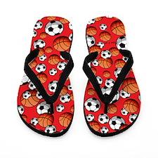 Soccer & Basketball Flip Flops