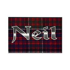 Neil  Rectangle Magnet