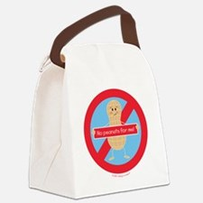 Funny Allergic Canvas Lunch Bag