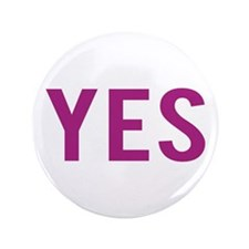 "YES 3.5"" Button (100 pack)"