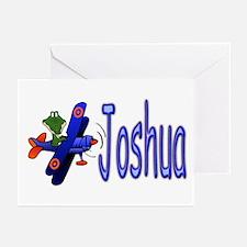Joshua Airplane Greeting Cards (Pk of 10)