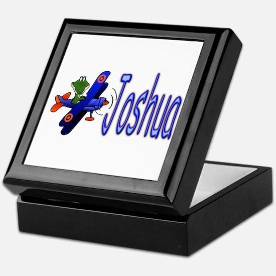 Joshua Airplane Keepsake Box