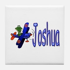 Joshua Airplane Tile Coaster