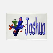 Joshua Airplane Rectangle Magnet