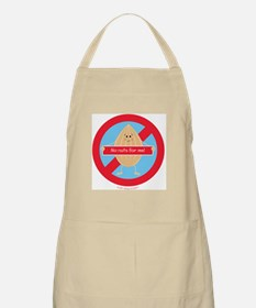 Cute Allergic to nuts Light Apron