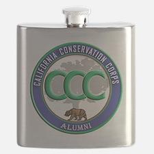 CCC Alumni logo blue/green Flask