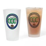 California conservation corps Pint Glasses