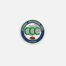 CCC Alumni logo blue/green Mini Button