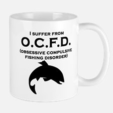 Obsessive Compulsive Fishing Disorder Mugs