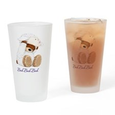 Bear Lamb Drinking Glass