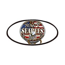 US Navy Seabees Anchor Flag s Patches