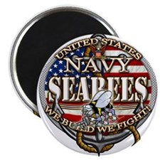 US Navy Seabees Anchor Flag s Magnets